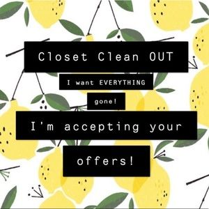 CLOSET CLEAR-OUT